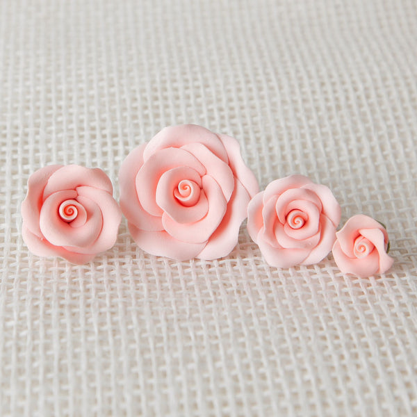 Petite Unwired Roses - Peach