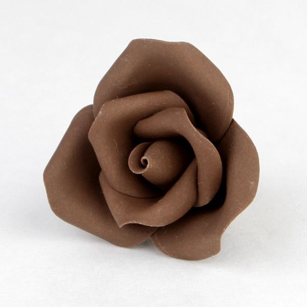Medium Chocolate Peruvian Roses - Unwired