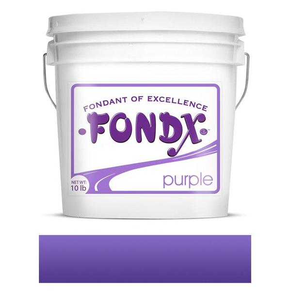 FondX Rolled Fondant - Purple