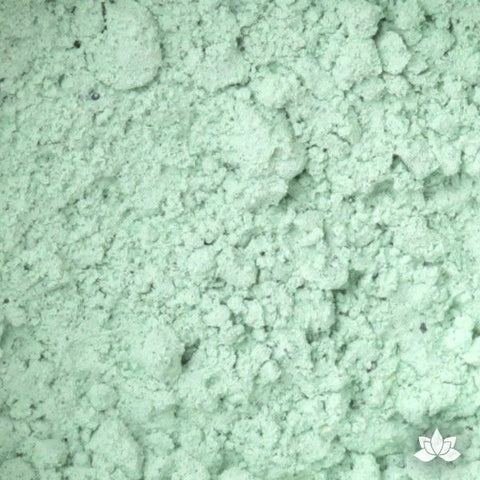 Pale Green Petal Dust food coloring perfect for cake decorating & painting gumpaste sugar flowers. Caljava