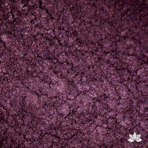 Grape Luster Dust colors for cake decorating fondant cakes, gumpaste sugarflowers, cake toppers, & other cake decorations. Wholesale cake supply. Bakery Supply. Passion Fruit Lustre Dust Color.