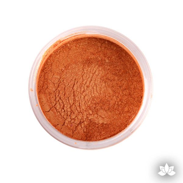 Pumpkin Luster Dust Colors food coloring perfect for cake decorating fondant cakes, cupcakes, cake pops, wedding cakes, and sugarflowers. Dusting color. Cake supply.