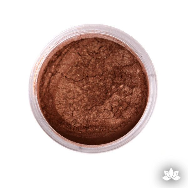 Mahogany luster dust, dust color, dusting color, petal dust, food color, cake decorating, cake art, edible color, cupcake decorating, sugarart, sugarflower, cake craft, diamond dust, sparkle dust, wedding cake, fondant cake, how to, learn how, at home, bake.