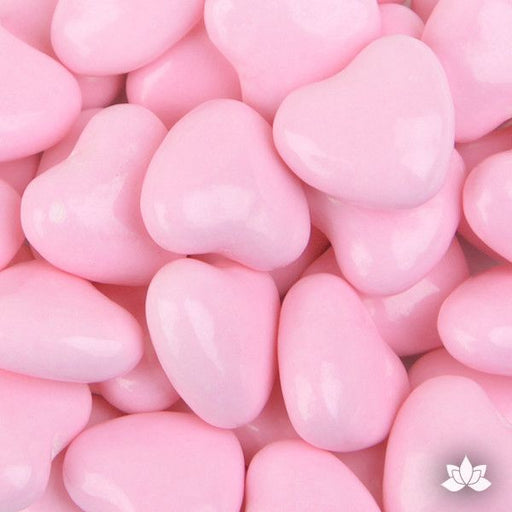 Light Pink Candy Hearts - 130g