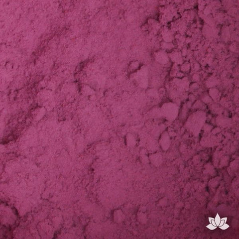 Plum Petal Dust color food coloring perfect for cake decorating & coloring gumpaste sugar flowers. Caljava