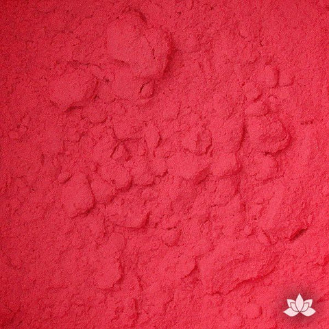 Poppy Red Petal Dust food coloring perfect for cake decorating & painting gumpaste sugar flowers. Caljava