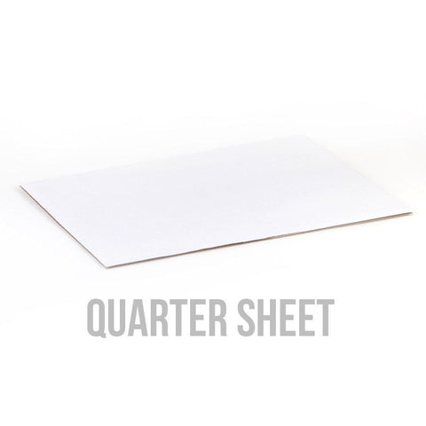 Quater Sheet White Cake Board