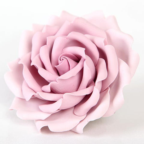 Rose Sugarflower cake topper made of gum paste, great for cake decorating your own cakes and wedding cakes. | CaljavaOnline.com