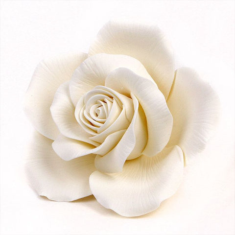 Queen Elizabeth Roses   White ...