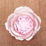 Readymade Blooming Peony Sugarflower Cake topper great for cake decorating your own wedding cake | CaljavaOnline