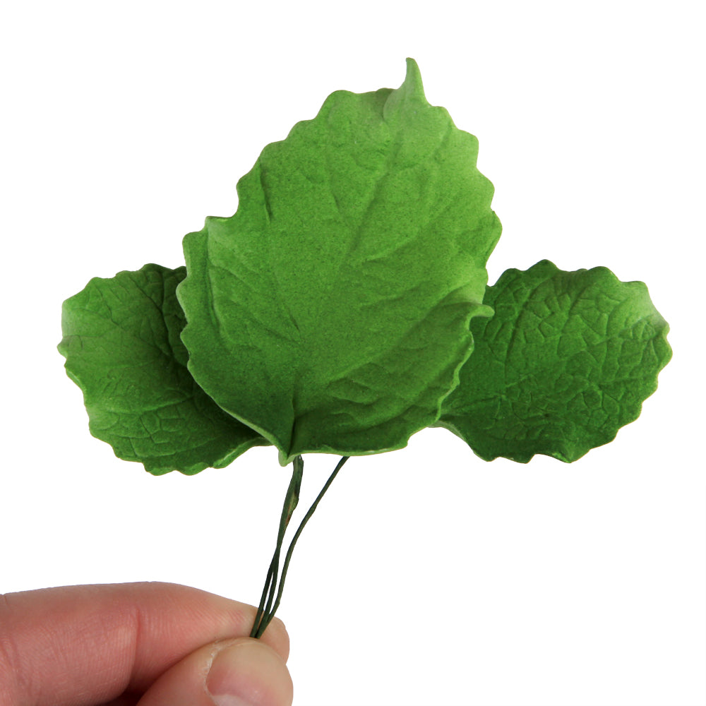 Rose Leaves gumpaste sugarflower cake decorations perfect as cake toppers for cake decorating fondant cakes and wedding cakes.  Wholesale sugarflowers. Wholesale cake supply.