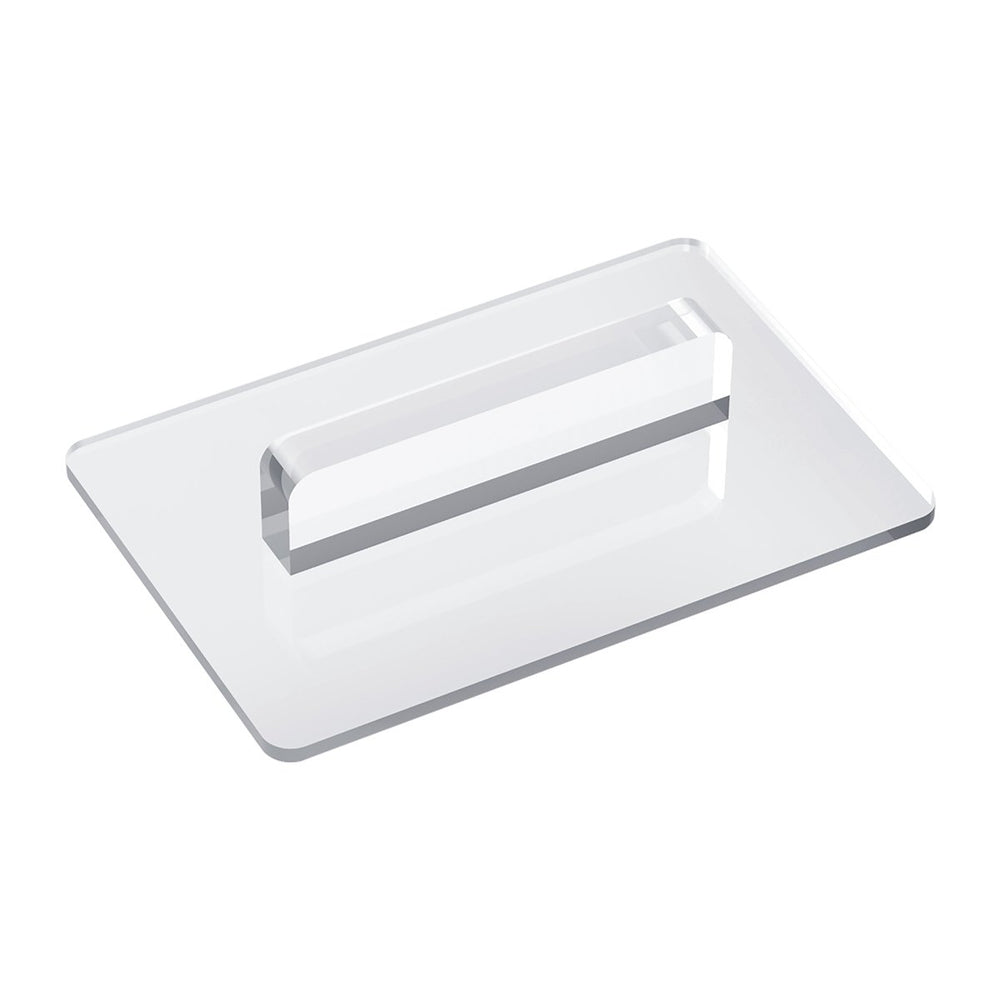 Acrylic Fondant Smoother cake decorating tool used for smoothing your fondant cakes to achieve sharp edges and corners.  Professional tool made for everyday use in your bakery making wedding cakes.