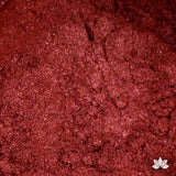 Red Luster Dust colors for cake decorating fondant cakes, gumpaste sugarflowers, cake toppers, & other cake decorations. Wholesale cake supply. Bakery Supply. Red garnet Lustre Dust Color.