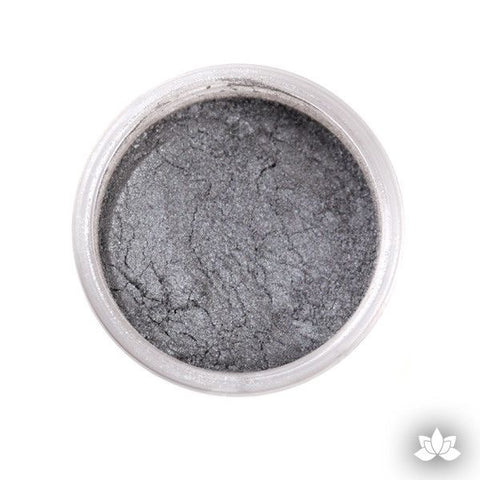 Moonstone Silver Luster Dust Colors food coloring perfect for cake decorating fondant cakes, cupcakes, cake pops, wedding cakes, and sugarflowers. Dusting color. Cake supply.