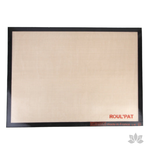 Roul Pat Baking Mat great for working with fondant and baking your baked goods.  Place it in the oven and have the perfect cookies.