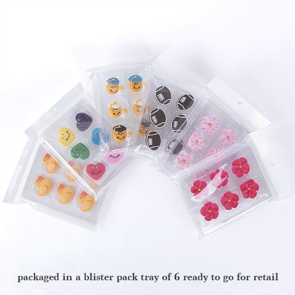 Rubber Duckie Royal Icing Sugar Toppers great for decorating cakes, cupcakes, chocolates, and more.