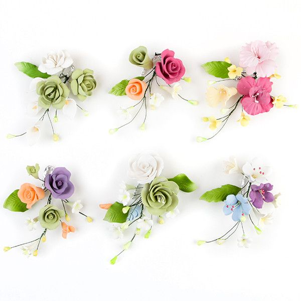 Sprays are gumpaste sugarflower cake decorations perfect as cake toppers for cake decorating fondant cakes and wedding cakes. Caljava wholesale cake supply.