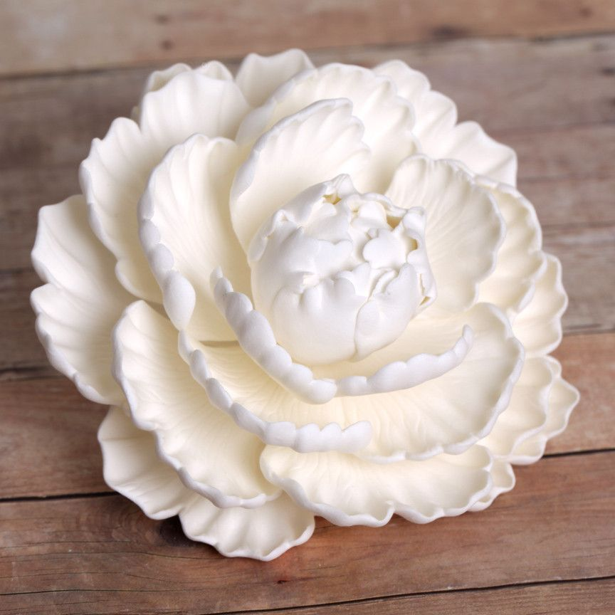 gumpaste flower wedding cake toppers closed peonies white caljavaonline 15024