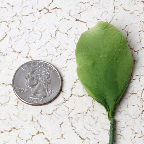 Orchard leaf sugarflower from gumpaste perfect for cake decorating fondant cakes and wedding cakes. Wholesale sugarflowers and cake supply.