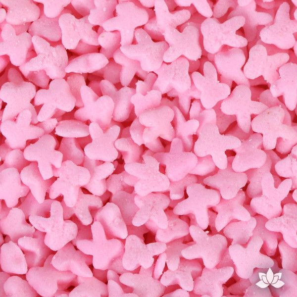 Decorate your cupcakes & cakes with Easter Confetti Sprinkles. Edible sprinkle cupcake decorations that complete edible cake creation for any cake decorator. Mini Pink Bunny Sprinkles. Wholesale cake supply. caljava