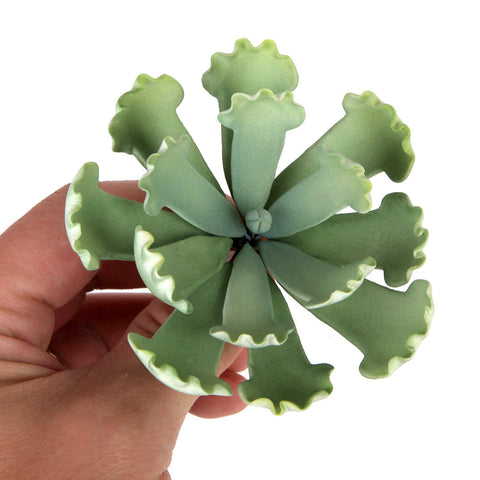 Succulent sugarflower cake toppers great for cake decorating your own cakes and wedding cakes. | CaljavaOnline.com