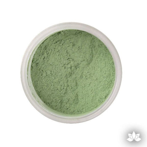 Sage Petal Dust color food coloring perfect for cake decorating & coloring gumpaste sugar flowers. Caljava