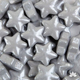 Silver Candy Stars - 35g
