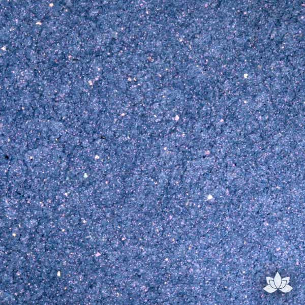 Sapphire Blue Luster Dust colors for cake decorating fondant cakes, gumpaste sugarflowers, cake toppers, & other cake decorations. Wholesale cake supply. Bakery Supply. Star Sapphire Lustre Dust Color.