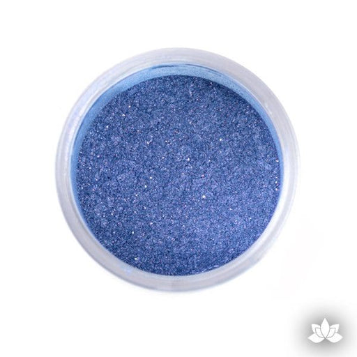 Sapphire Blue Luster Dust Colors food coloring perfect for cake decorating fondant cakes, cupcakes, cake pops, wedding cakes, and sugarflowers. Dusting color. Cake supply.