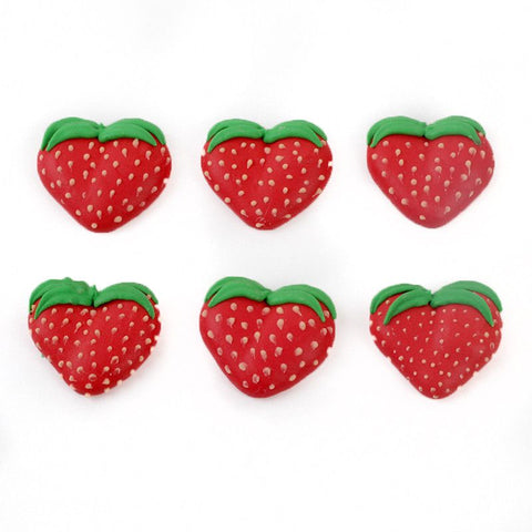 Strawberry Royal Icing Decorations
