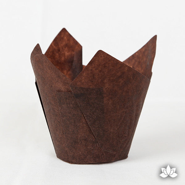 Muffin Cups - Dark Brown