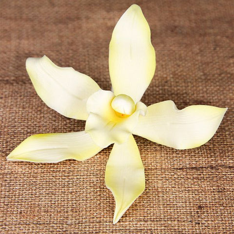 Vanda Orchids gum paste sugar flower cake topper, great for cake decorating your own cakes.
