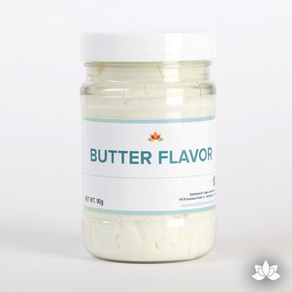 Butter Flavor Powder perfect for mixing into your cake mixes, icings, fillings, & more. Butter adds delicious flavor to any of your creations. Icing Flavorings.