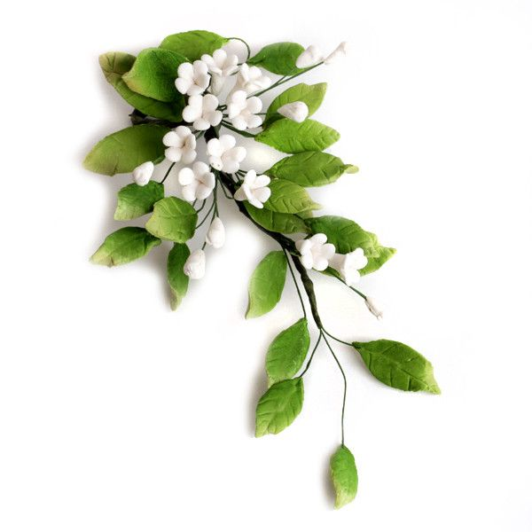 White Glory Filler gumpaste sugarflower cake decoration perfect as a cake topper for cake decorating fondant cakes and wedding cakes.  Wholesale sugarflowers. Caljava