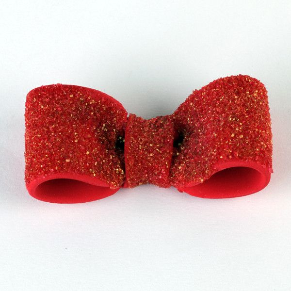 Red Sparkle Fondant Heel cake topper perfect for cake decorating fondant cakes & brides cakes. Caljava