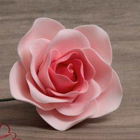 Pink Ombre Gumpaste Brilliant Roses, 3 sizes handmade cake decoration. Wholesale cake supply. caljava