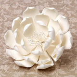 Gumpaste Queen of the Night Dahlia Sugarflowers are perfect cake decorating fondant wedding cakes & cupcakes. Handmade cake toppers from gumpaste/fondant. Wholesale sugarflower. Caljava Bakery Supplies