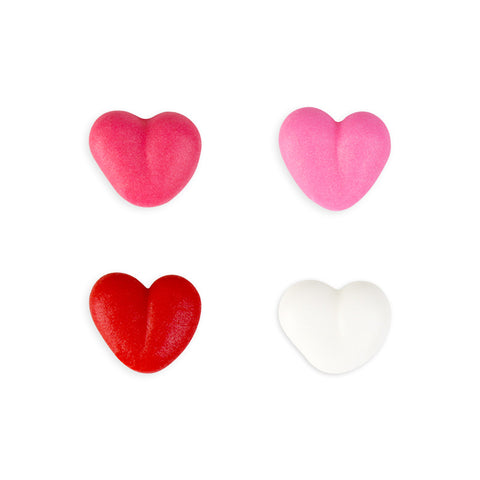 Small Heart Royal Icing Decorations (Bulk) - Assortment