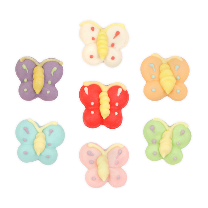 Butterfly Royal Icing Decorations (Bulk) - Assortment