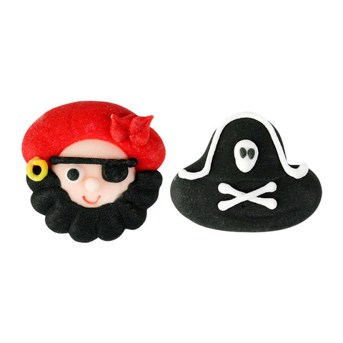 Buccaneer Royal Icing Decorations (Bulk)