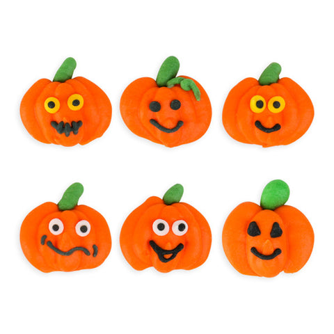 Pumpkin Patch Royal Icing Decorations (Bulk)