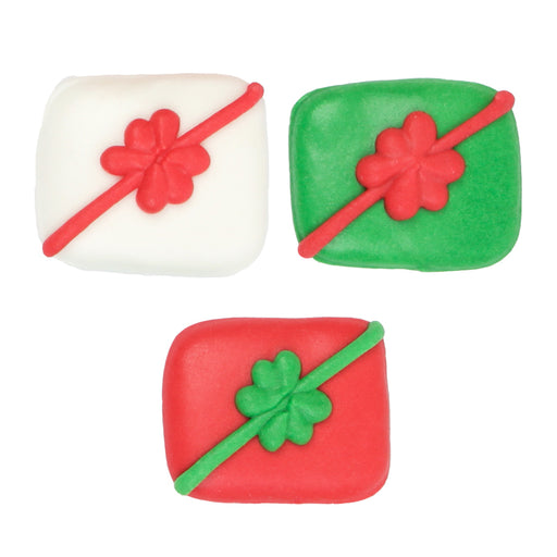 Royal Icing Topper for cake decorating your own cupcakes, cakes, and fine chocolates.  Edible chocolate decorations.