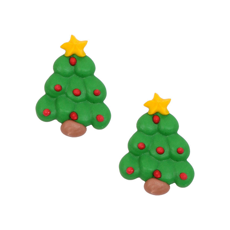 christmas tree 1 royal icing decorations bulk
