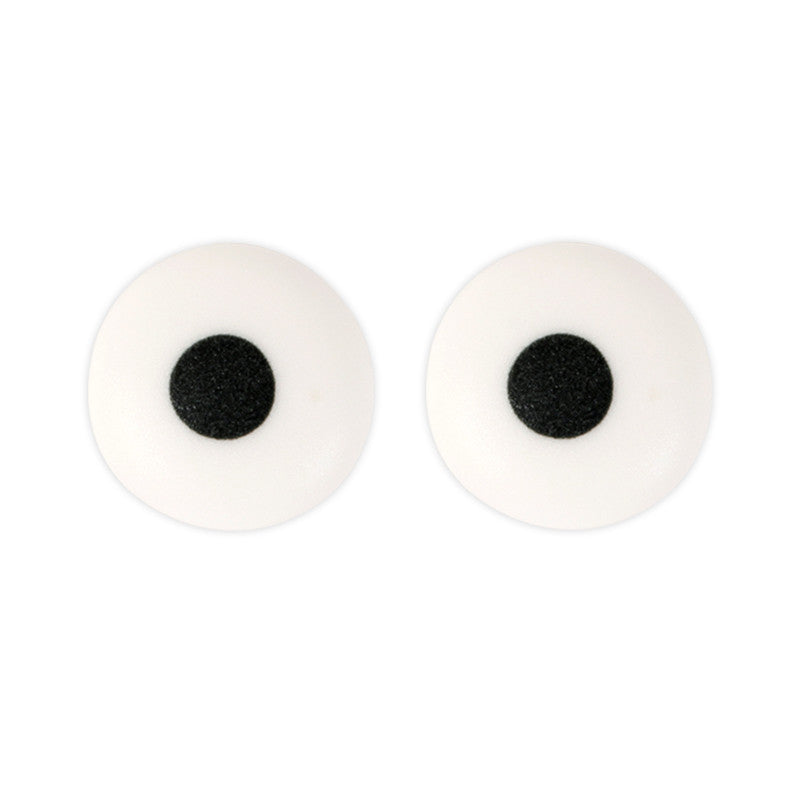 Large Black Eyes Royal Icing Decorations (Bulk)