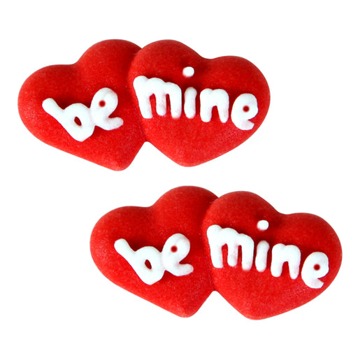 Be Mine Valentine's Day Royal Icing Decor