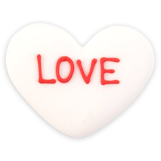 XL Love Hearts Royal Icing Decorations (Bulk)