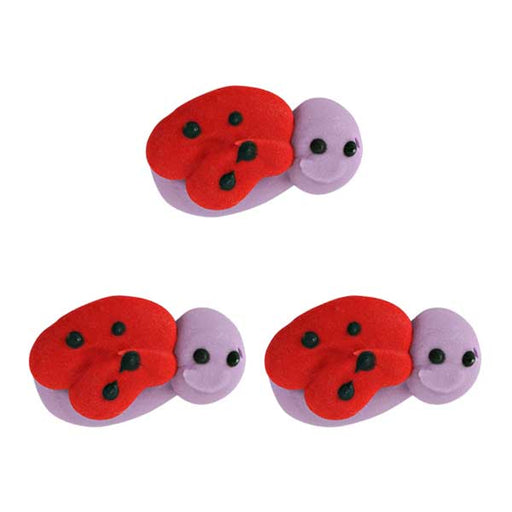 Lady Bug Royal Icing Decorations (Bulk)