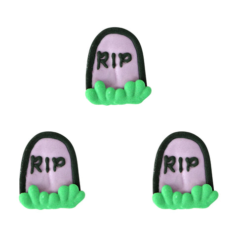 Tombstone Royal Icing Decorations (Bulk)