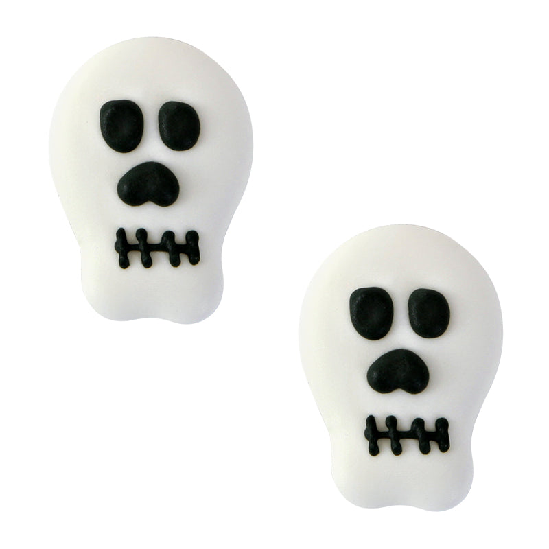 Skull Royal Icing Decorations (Bulk)