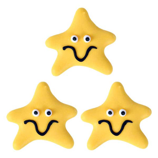 Happy Starfish Royal Icing Decorations (Bulk)